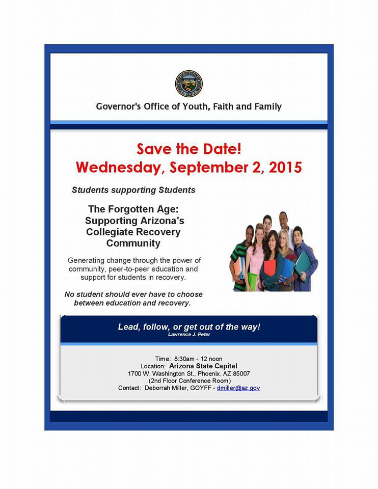 GOYFF Recovery Event